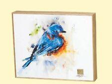 Springtime Bluebird Canvas Print Wall Art by Dean Crouser Watercolor