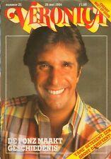 VERONICA 1984 nr. 21 - HENRY WINKLER / SEAN CONNERY / CHERRY / FOOTLOOSE