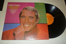 PERRY COMO - And I Love You So - 1973 UK 10-track LP on the Orange RCA label