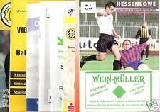 Programme 75 x Eintracht Braunschweig-FC Magdeburg/RW Essen/RWO/Fürth/KSC/BVB