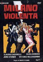 Dvd **MILANO VIOLENTA** con Vittorio Mezzogiorno nuovo 1976