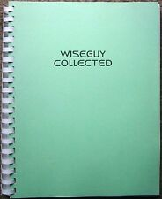"""Wiseguy Fanzine """"Wiseguy Collected""""  Collection of Stories  SLASH"""
