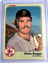 1983 WADE BOGGS REALLY NICE CARD FLEER #179  BC#64 JM