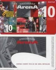 Arenakaart A104-01 10 euro: Zomer 2009