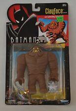 "1993 DC COMICS BATMAN THE ANIMATED SERIES ""CLAYFACE"" VILLAIN ACTION FIGURE MIP"