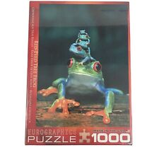 Jigsaw Puzzle Red Eyed Tree Frog Eurographics 1000 Pcs Biology New Sealed USA