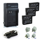 Battery / Charger for Panasonic Lumix DMC-GF3 DMC-GF5 DMC-GF6 DMC-GX7 DMC-LX100