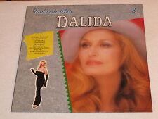 DALIDA LP INOLVIDABLES TRES RARE ORIGINAL EDITION ESPAGNOL