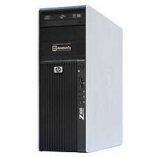 HP Z400 Pc Workstation Xeon X5670 Hexa-core RAM 12gb SSD 120GB Quadro K2000 W10