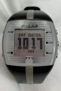 Polar FT7 Black and Silver Digital Heart Rate Monitor/Watch Only No Strap