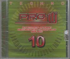 PRO DJ TECHNO vol. 10 CD F.C. SIGILLATO!!!