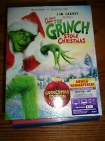 DR. SEUSS' HOW THE GRINCH STOLE CHRISTMAS-  BLU-RAY ONLY- WATCHED ONCE!