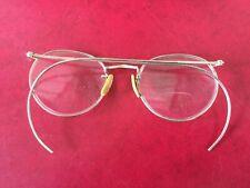 Vintage Ben Franklin style eyeglasses. Wrap around ear arms. Antique/vintage!