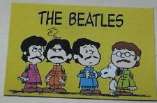"Peanuts Gang ""Sgt Pepper's"" Beatles Floppy Magnet Approx 2"" x 2.5"""