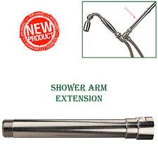 High Sierra's Exclusive All Metal Shower Arm Extension - Brushed Nickel
