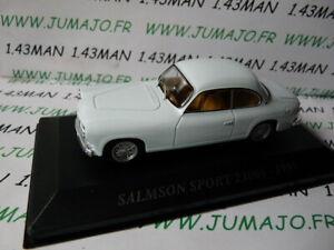 AUT36 Macchina 1/43 ixo altaya Macchinine Antico Salmson Sport 2300S 1955