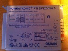 BALLAST ELECTRONIQUE OSRAM  POWERTRONIC PTI 35W/220-240 S 35W NEUF