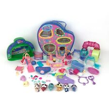 Littlest Pet Shop LPS Lot of 60 plus Accessories Included 6 Pets