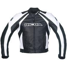 Richa Leather motorcycle/motorbike jacket - Richa Sniper White leather jacket