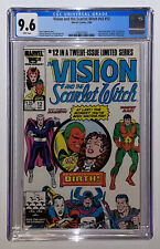 Vision and the Scarlet Witch v2 #12 1986 CGC 9.6 White Pages WandaVision