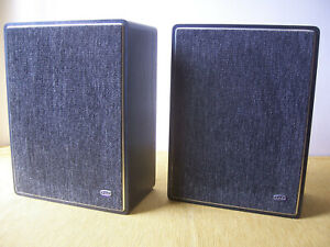 """Vintage GEC S1609 Speakers with EMI 13"""" X 8"""" Drive Dnits spares or repair"""