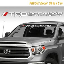Toyota TRD Off Road Racing Tacoma Tundra Vinyl Decal Sticker Truck Windshield 1i