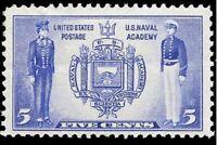 Scott # 794 US Navel Academy Single Stamp MNH OG