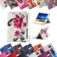 """NEW Leather Case Cover For Samsung Galaxy Tab A 2/3 / 4 10.1 inch 8"""" 7"""" P3100"""
