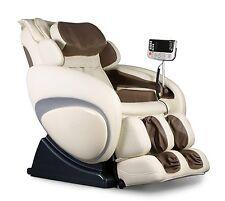 Cream Osaki OS-4000 Zero Gravity Massage Chair Recliner + Warranty