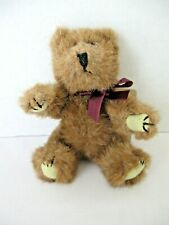 """Boyds Bear Archive Collection Investment Collectible 6"""" BurgundyRibbon 1990-1995"""