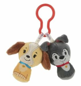 Hallmark Itty Bittys Clippys Lady & the Tramp 2 pc NWT Clippies Dogs Free Ship