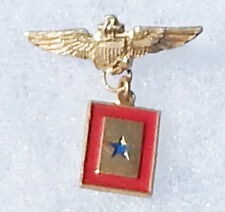 WWII USN / USMC Pilot Wing Son In Service Patriotic / Sweetheart Pin