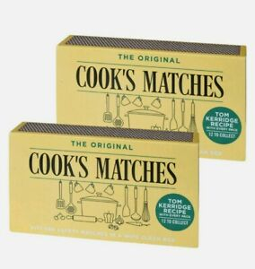 2 x Boxes of Cook's The Original Kitchen Safety Matches. Fast &Free Delivery.