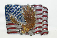 Gürtelschnalle Buckles of America US FAHNE FLAG ADLER EAGLE BA-255