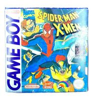 Boite Jeu Spider Man X-Men Arcade's Rev. Reproduction Nintendo Game Boy Sans jeu