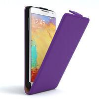 Tasche für Samsung Galaxy Note 3 Neo Flip Case Schutz Hülle Cover Lila