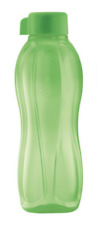 Tupperware Water Bottle 1L with Liquid Tight Seal in Sheer Green Rare New