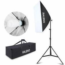 Softbox Photography Lighting Kit, 800W Studio Light 20″×28″E27 Socket 5500K