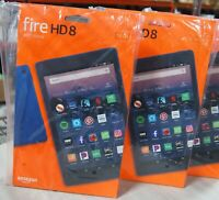 Amazon Fire HD 8 (8th Gen) Tablet, 16 GB, Wi-Fi, 8 inch HD, Marine Blue