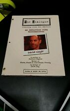 The Dialogue An Interview With Screenwriter David Goyer DVD Video Vol.2.1