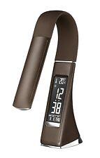 LED Schreibtischlampe Tischlampe Leuchte Dimmbar Temperatur- Alarm- Kalender