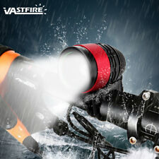 Zoomable Focus 10000LM XM-L T6 LED Front Bike Light Lamp Bicycle Headlamp Torch