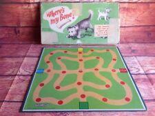 WHERE'S MY BONE DOG DOGGIE Vintage RETRO BOARD GAME SPEARS GAMES