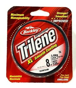 Berkley Trilene XL Smooth Casting Clear 8 LB 330 YD CR1