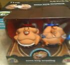 THE BLACK SERIES REMOTE CONTROL SUMO KING WRESTLING BUILT IN  SOUND EFFECTS B6