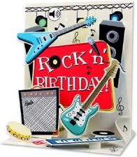 Rock N Roll - Sound Card - 3D Pop-up Card by Up With Paper