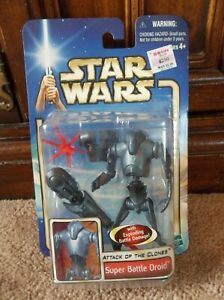 "Star Wars AOTC Episode II Super Battle Droid '02 #06 ""BRAND NEW"""