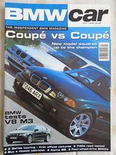 BMW Car Jul 1999 740d, Alpina B8, 3 Series Coupe