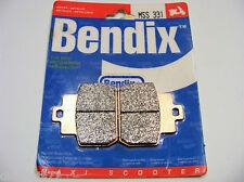 Plaquettes De Frein arrière BENDIX MSS 331 PIAGGIO GTV 125  250  300 MP3 125 250
