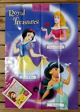 2-For-1! Disney Princess Addition & Subtraction Book & Wall Poster [Grades K+]